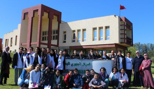 تلامذة مدرسة اللبيب مكناس يزورن البحث الزراعي لمكناس – 28 مارس 2017