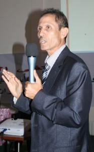 الدكتور الحسن أشباني، باحث