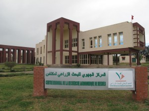 The Regional Center for Agricultural Research in Meknes head office
