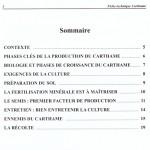 Sommaire FT carthame