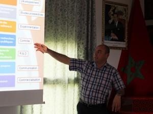 Dr Riad Balaghi, Chef du Centre Régional de la Recherche Agronomique de Meknès