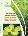 """Couverture du livre """"Amélioration génétique du Colza"""""""