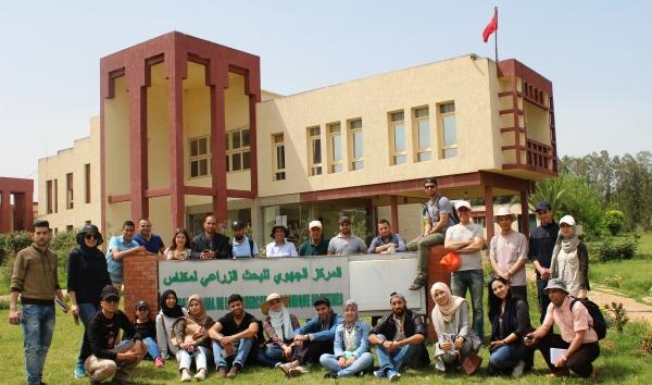 Visite au CRRA Meknès des étudiantEs de la FS d'Oujda - 19 avril 2017