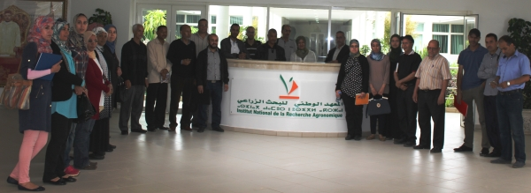 Enseignants SVT d'El Hajeb au Qualipole Alimentation de Meknès - 25 mai 2017