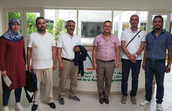 Visite de chercheurs Turcs au CRRA Meknès - 16 sept 2017