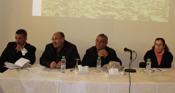 IntervenantEs au séminaire : A. Essahat, A. Hamal, A. Ramdani et Y. Moujahid