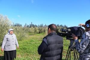 Photo du tournage TV Tamazight - 13 février 2018