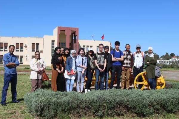 Des élèves du Lycée Ibn El Khatib (El Hajeb) en visite en CRRA Meknès - 19 avril 2018