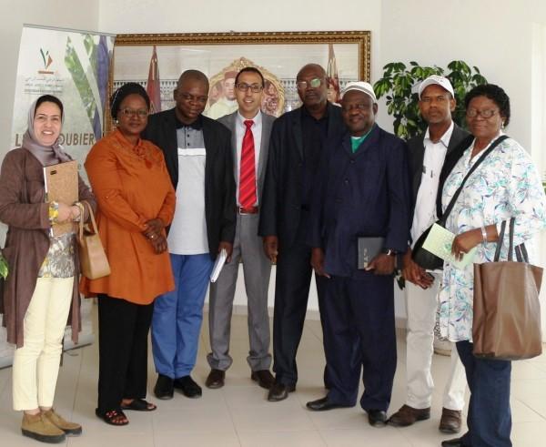 Délégation malienne en visite au Qualipole Alimentation de Meknès, 15 mai 2018