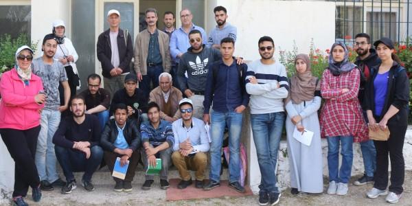 Les étudiants de la FS Meknès en visite au Domaine Expérimental de Douyet, 29 mai 2018