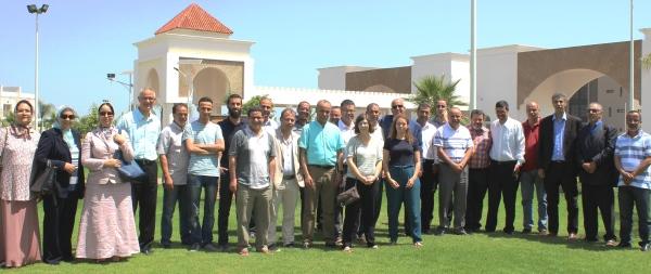 Les participantEs à l'atelier du projet SEMIARID, Meknès le 05 juillet 2018