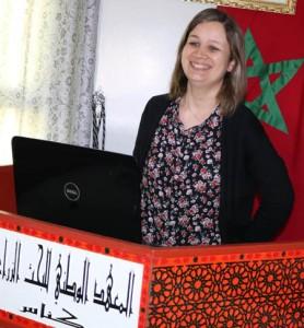 Ir Sahar Bennani, Chercheure au CRRA Rabat