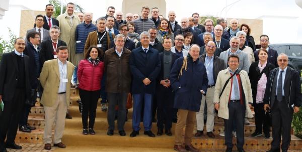 Des agroindustriels et des professionnels français de l'agriculture en visite au Qualipole Alimentation de Meknès, 04 avril 2019