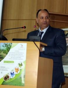 Dr Kamal Hidane, DRA FM, à l'ouverture de la journée