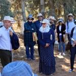 Ir Ali Mamouni (SRD - CRRA Meknès) présentant des collections du DE Aïn Taoujdate