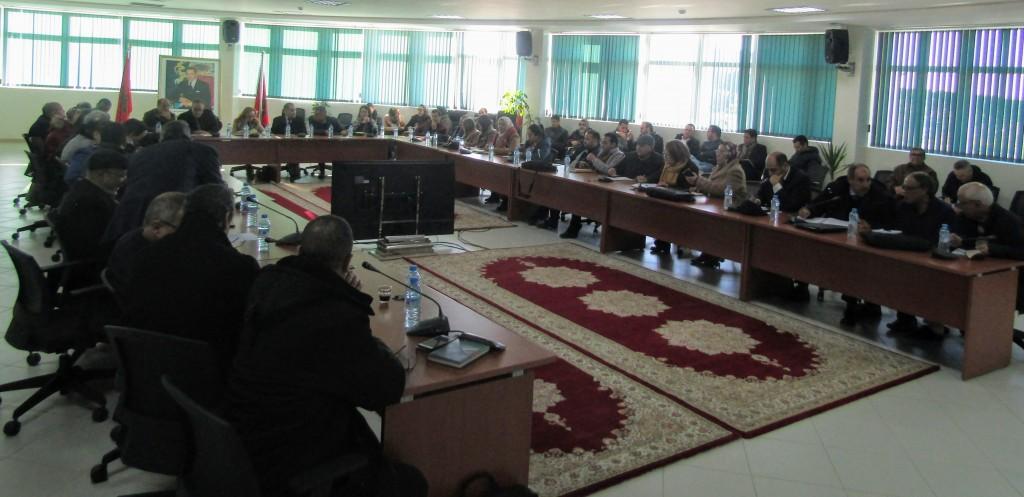Session plénière de l'atelier de diagnostic participatif, Meknès le 07 janvier 2020