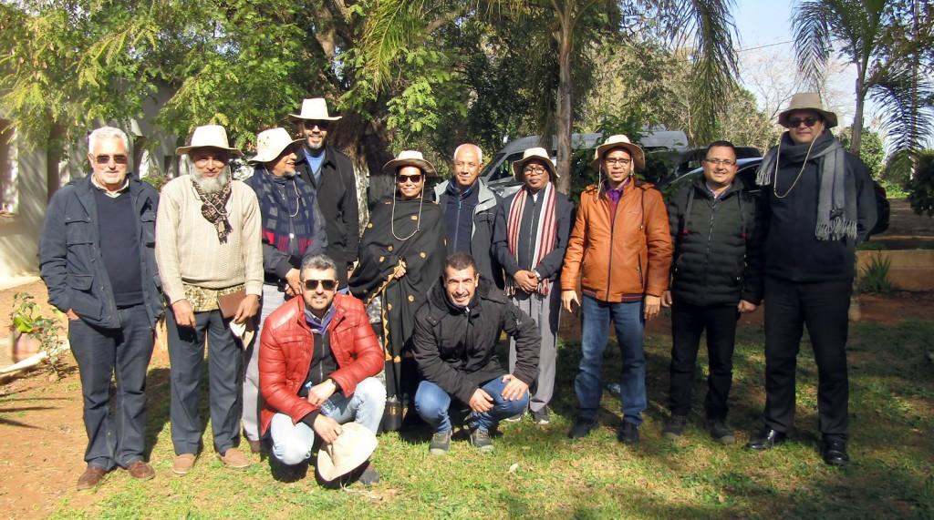 Visite de la délégation du bagladesh et de l'IFDC au DE Aïn Taoujdate - 21 jan 2020