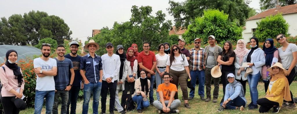 Visite des étudiantEs de l'ENA Meknès au DE Ain Taoujdate le 08 juin 2021