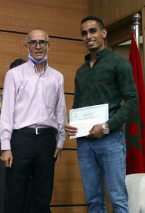 Prix du meilleur poster attribué au doctorant Atman Adiba (INRA Meknès-FST Beni Mellal)